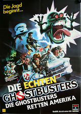 The Real Ghostbusters German video movie poster DinA1 TV-series