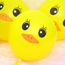 Cute 50pcs Yellow Duck Ballons Celebration Party Wedding Birthday Decor Ballons