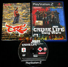 Crime Life Gang Wars ps2 official version Italian 1ª Edition * * * * * COMPLETE