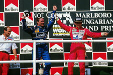 Nigel Mansell Williams FW14B ganador húngaro Grand Prix 1992 fotografía 1