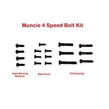 63-74 Muncie 4 Speed Trans. Black Bolt Kit/Set W/ Factory Style Head M20 M21 M22