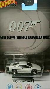 Hot Wheels Premium Lotus Esprit S1 James Bond the Spy Who Loved Me (NG61)