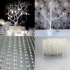 Fashion Garland Diamond Acrylic Crystal Bead Curtain Wedding DIY Party Home Deco