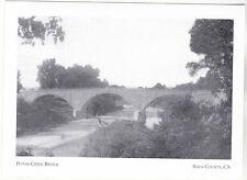 "+PC-Postcard-""The Putah Creek Bridge"" /Berryessa Valley/ Napa County, CA.(A20-6)"