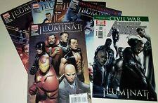 New Avengers Illuminati 1 2 3 4 5 + Special complete run job lot Marvel Comics
