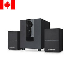 PrimeCables® 2.1 Bluetooth Multimedia Stereo Powered Speaker and Subwoofer Set