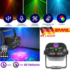 90 Muster RGB Laserlicht DJ Projektor LED USB Disco Beleuchtung für Home Party