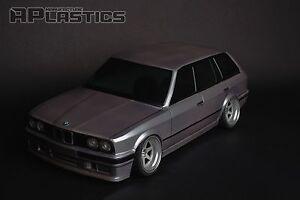 RC Body Car Drift 1:10 BMW 3 E 30 Touring Wagon E30 style APlastics New Shell