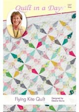 Flying Kite Quilt: Eleanor Signature Quilt Pattern by Quilt in a Day