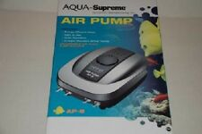 AQUA-SUPREME AIR PUMP 8 WATT 4 OUTLETS  DANNER AP-8
