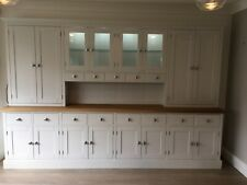 10 ft New Solid Pine Painted Welsh Dresser - Dinning / Kitchen Unit with lights