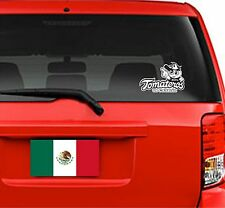 "Car Decal. Sticker. Baseball. Beisbol. Tomateros de Culiacan. 8""W x 5.3""H"