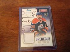 13-14 2013-14 PLAYBOOK MARK ARCOBELLO BREAKOUT ROOKIE JERSEY /199 B-MAR OILERS