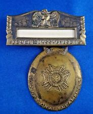 1929 VFW 30th National Encampment Department of Massachusetts Medal Ribbon
