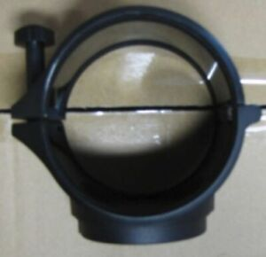Meade 82mm Inside diameter Clamshell for mounting 80mm refractor to DS2000 mount
