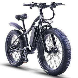 """vélo électrique VTT 26*4"""" 1000 W 48V 16Ah pour homme et femme"""
