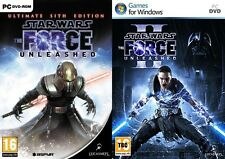 Star Wars The Force Unleashed Ultimate Sith Edition & 2