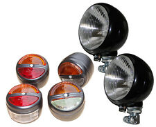 Hauptscheinwerfer + Leuchten Blinker für Porsche Diesel Traktor Schlepper V/24