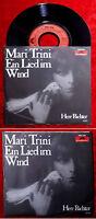 Single Mari Trini: Ein Lied im Wind (Polydor 2001 849) D 1979
