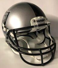 Oakland Raiders Full Size Authentic Rawlings Momentum Custom Football Helmet WOW