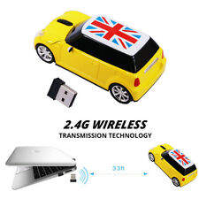 BMW Car Wireless Mouse optical Game Mice Mini Cooper USB for Laptop PC Xmas gift