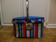 Igloo Collapsible Insulated Picnic Party Basket Bag Only No Dishes Included
