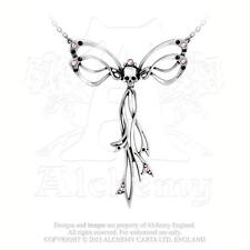 Alchemy - Gothic Matrimony - Pewter and Crystal Necklace