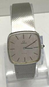 Vintage 1970's Genuine Omega De Ville Men's Dress Watch SWISS St/Steel WORKING