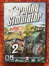 Farming Simulator 2009 PC CD-ROM + 2 Bonus Games: Farmer Crates/Wacky Farm Game