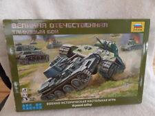 World War II Tank Combat: Historical Wargame Board Game-NEW