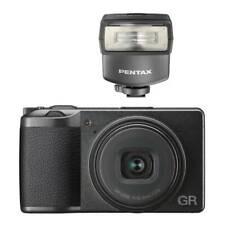 Ricoh GR III Digital Camera with Pentax AF-200FG P-TTL Shoe Mount Flash