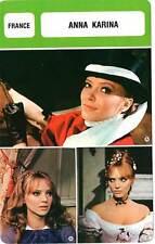 FICHE CINEMA :  ANNA KARINA -  France (Biographie/Filmographie)
