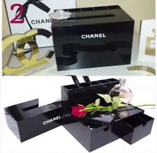 Chanel Makeup Storage With Tissue Box And Compartments Brush Holder (SOLD OUT)