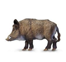 Wild Safari Wildlife Educational Painted Miniature Replica - Boar