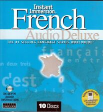 Learn Speak Understand FRENCH Language DELUXE Audio 8 CDs - listen in your car