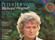 """PETER HOFMANN RICHARD WAGNER RSO STUTTGART IVAN FISCHER 12"""" LP (L6107)"""