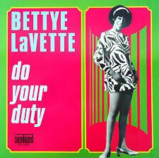 Bettye LaVette-Do Your Duty-LP- 2006 Sundazed Music USA issue – LP 5208