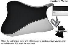 WHITE & BLACK CUSTOM FITS SUZUKI 600 750 GSXR 08-10 K8 K9 L0 FRONT SEAT COVER