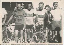 PHOTO SPORT CYCLISME / VELO 1948 1° CHABAUD 2° TEYSSIERE / format  17 cm x 12 cm