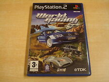 PLAYSTATION 2 GAME - WORLD RACING