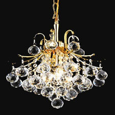 New! Crystal Chandelier Toureg Gold 3 Lights 12X15