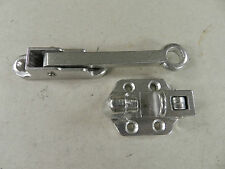 "(1)Trailer 4"" Camper RV Door Holder Hold Back Hook & Keeper Style ALUMINUM Latch"