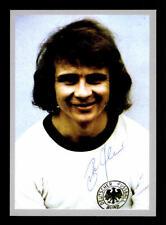 Bernd Hölzenbein Autogrammkarte DFB WM 1974 Original Signiert