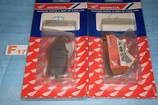 4 plaquettes de frein avant d'origine HONDA XL 600 V TRANSALP de 1997/1999