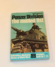 Ballantine's Illustrated History  Weapons Book No. 2 Panzer Division Mailed Fist