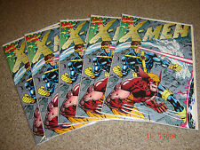 XMEN #1 LOT OF 5 WITH FOLDING GATEWAY COVER