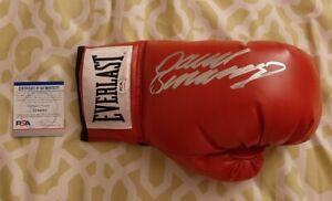 David Benavidez signed autographed Everlast boxing glove PSA COA #AJ44062