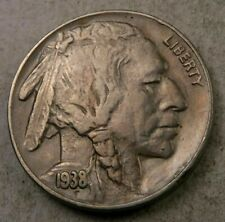 1938-D Buffalo Nickel // AU-XF // Better Date! // 1 Coin.