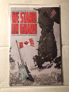 WE STAND ON GUARD #1 2 1st Print Image Comics Lot Brian Vaughan 2015