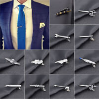 Men Cool Metal Tie Clip Bar Necktie Pin Clasp Clamp Wedding Creative Gift Preci